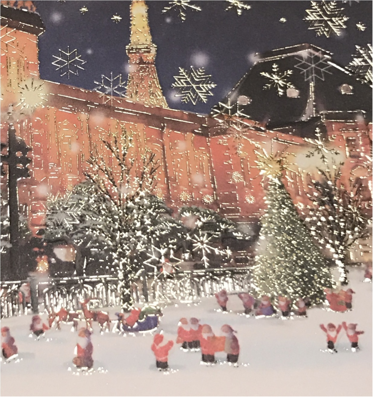 《Xmasプレゼントに添えて♡》 日本を旅するサンタさんが可愛いクリスマスカード❤︎_3
