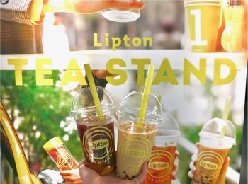 表参道・大阪で大人気のあの『リプトン』イベントがお店になった! 「Lipton Tea Stand」が、札幌・名古屋・博多にオープン★