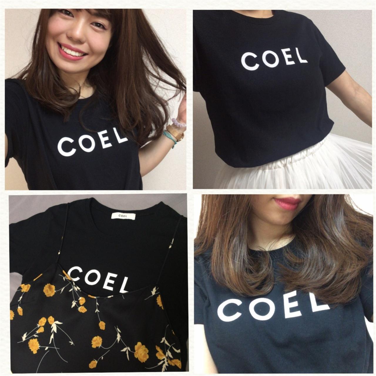 """2018年夏マストアイテムのロゴT!わたしのお気に入りは""""COEL""""のロゴTシャツ♡_3"""