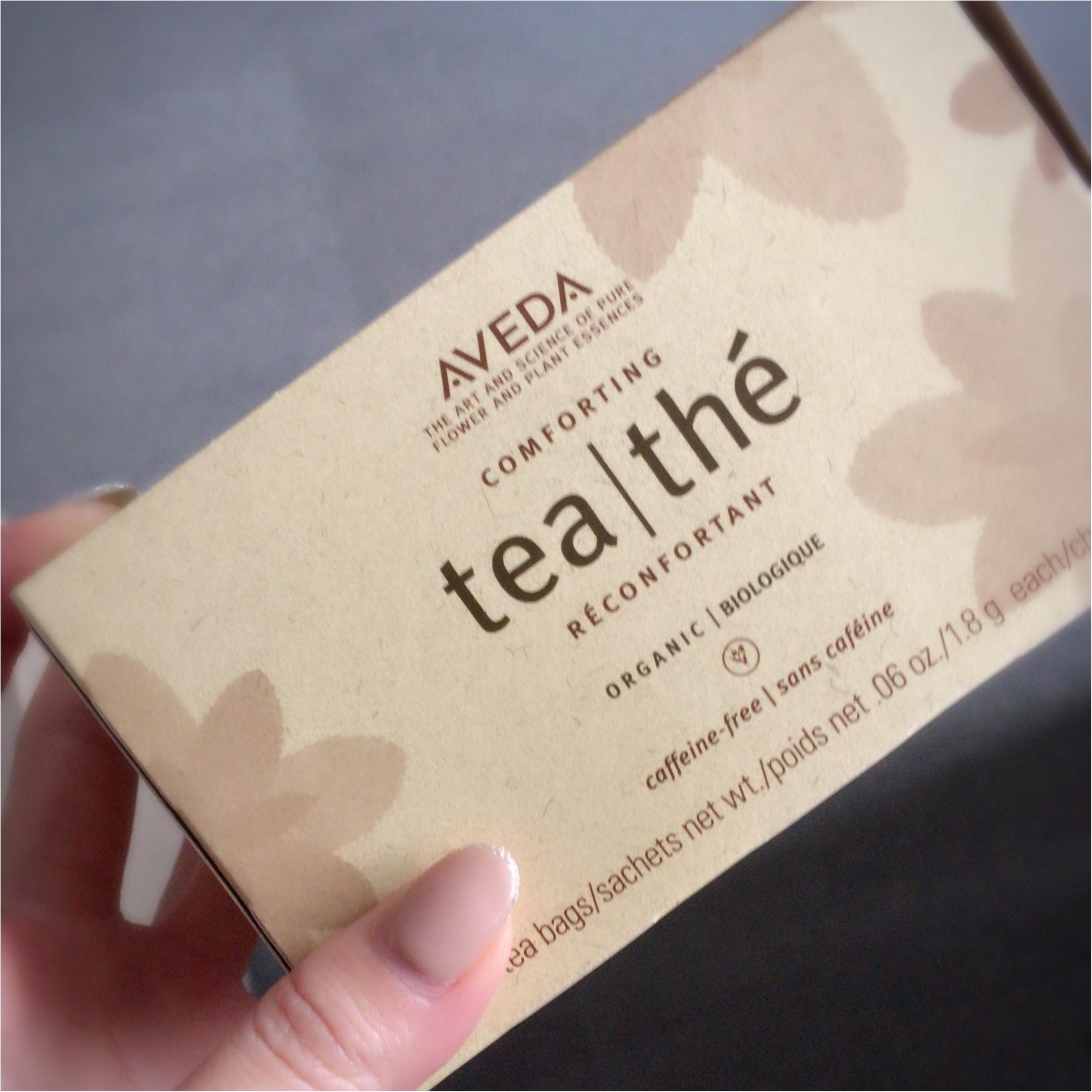 不思議な味がクセになる!AVEDAのCOMFORTING teaでちょこっとダイエットを実践中!!_1