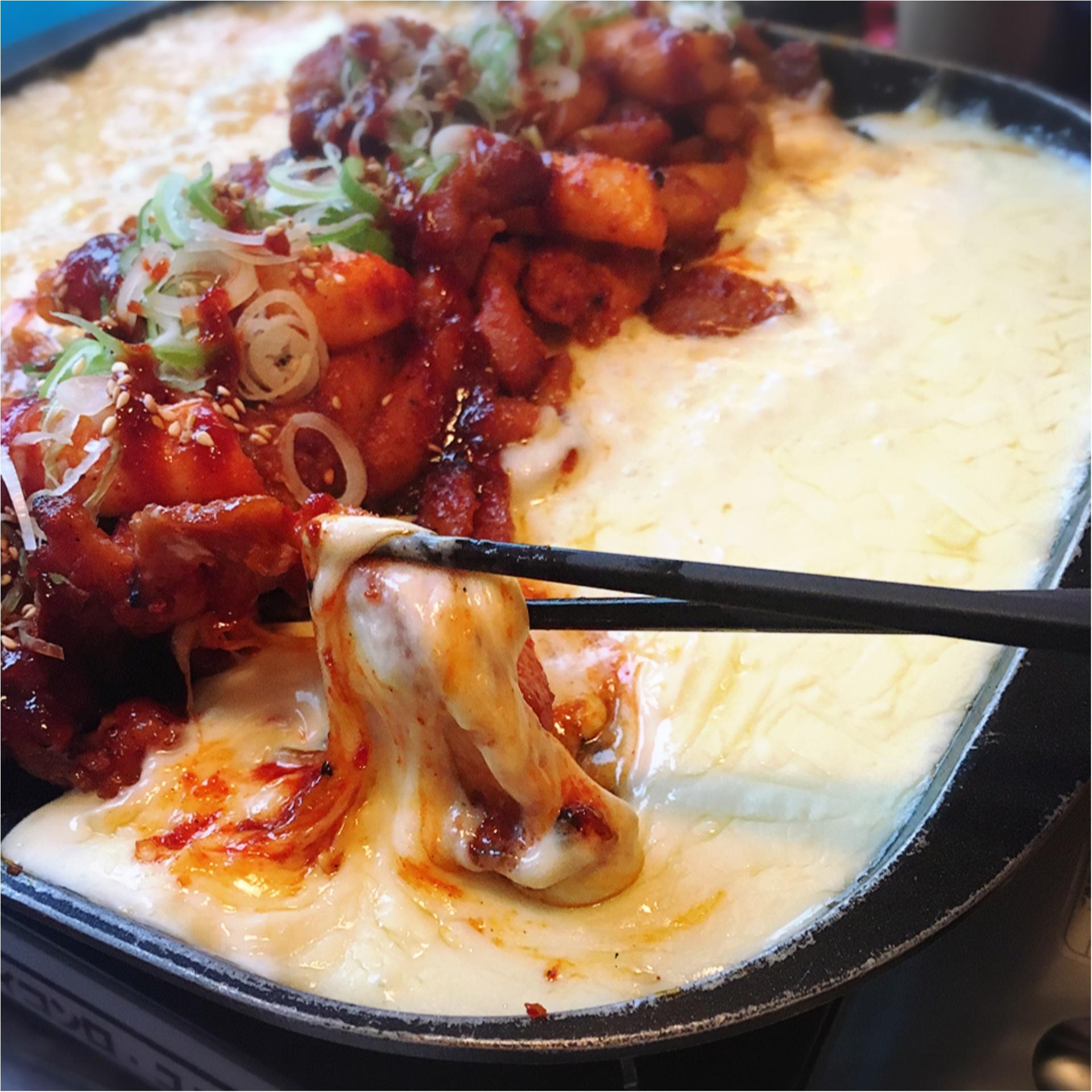 新大久保で話題沸騰!韓国料理の新定番チーズタッカルビ‼︎_2