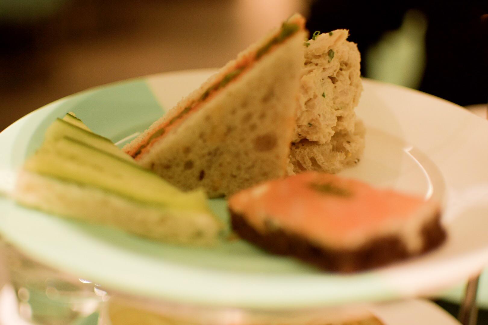 【NY】5番街で「ティファニーで朝食を」実際に食べれる!?The Blue Box Cafe【Tiffany】_5