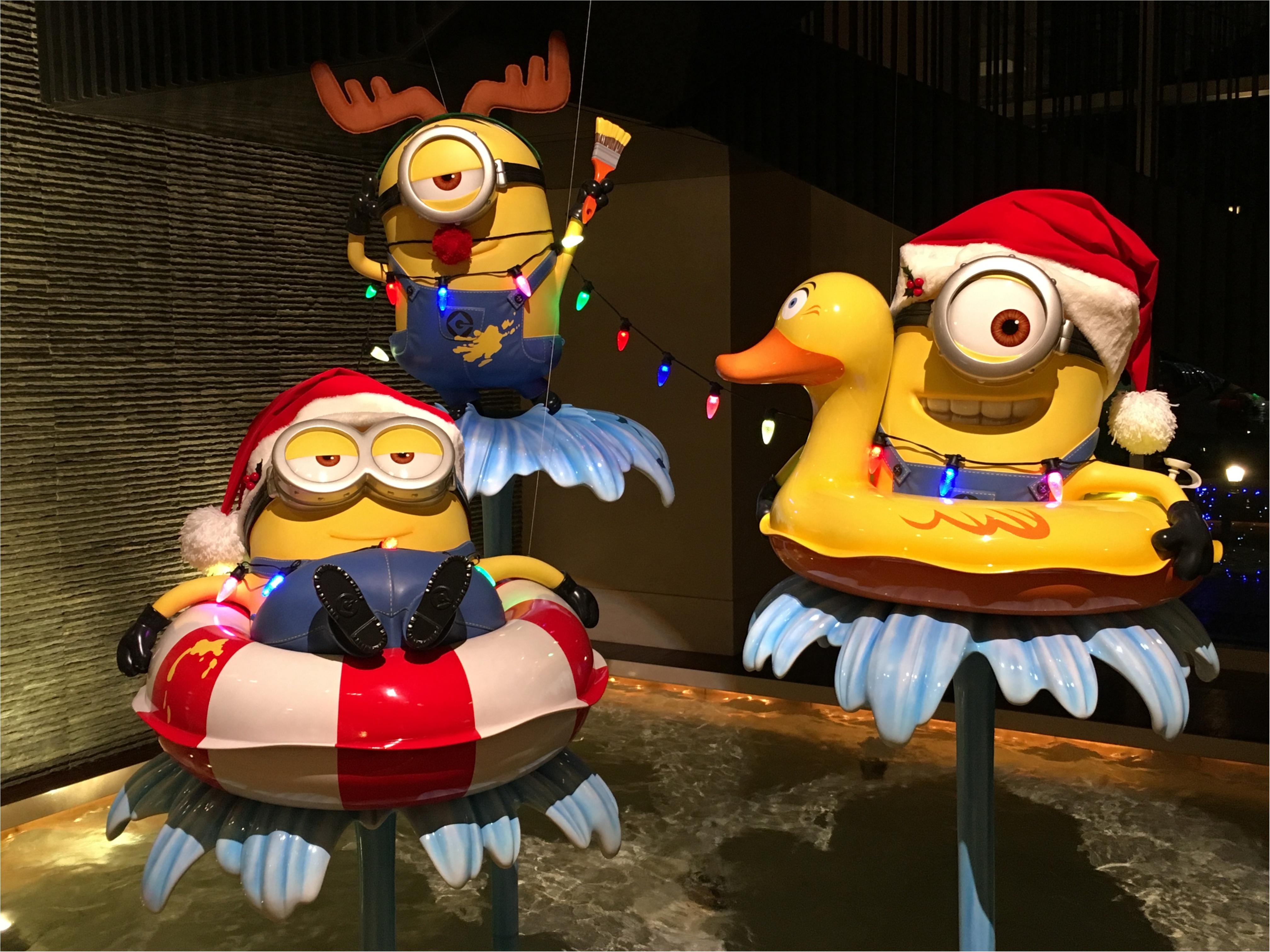 ハチャメチャミニオンが可愛すぎ❤️【USJクリスマス】のフォトジェニックスポットはここ!_2