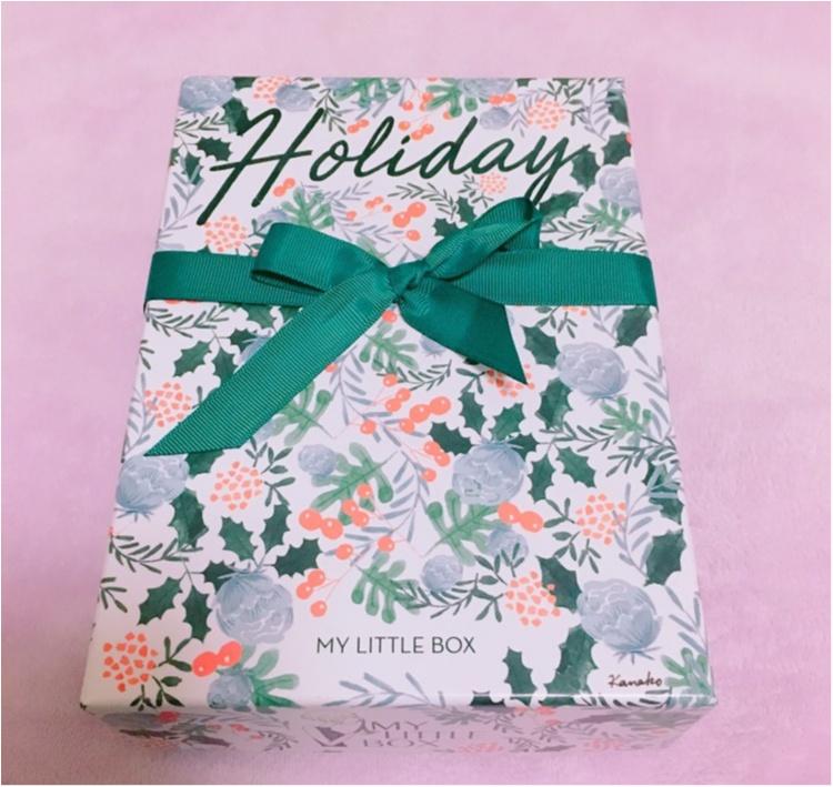 """《パリからの贈り物♡》今月はクリスマス仕様でいつもより豪華に♡思いも寄らず""""あの名品""""をゲットだぜっ!!!_1"""