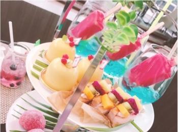 《マリオットホテルで開催中!》ハーゲンダッツ×アフタヌーンティーの今年のテーマは『トロピカルなハワイ』