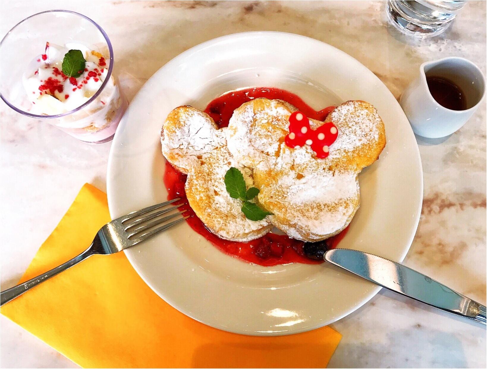 【朝ディズニーでしか出会えない】ミッキーミニーの可愛いフレンチトーストが食べられる場所があるんです♡♡_2
