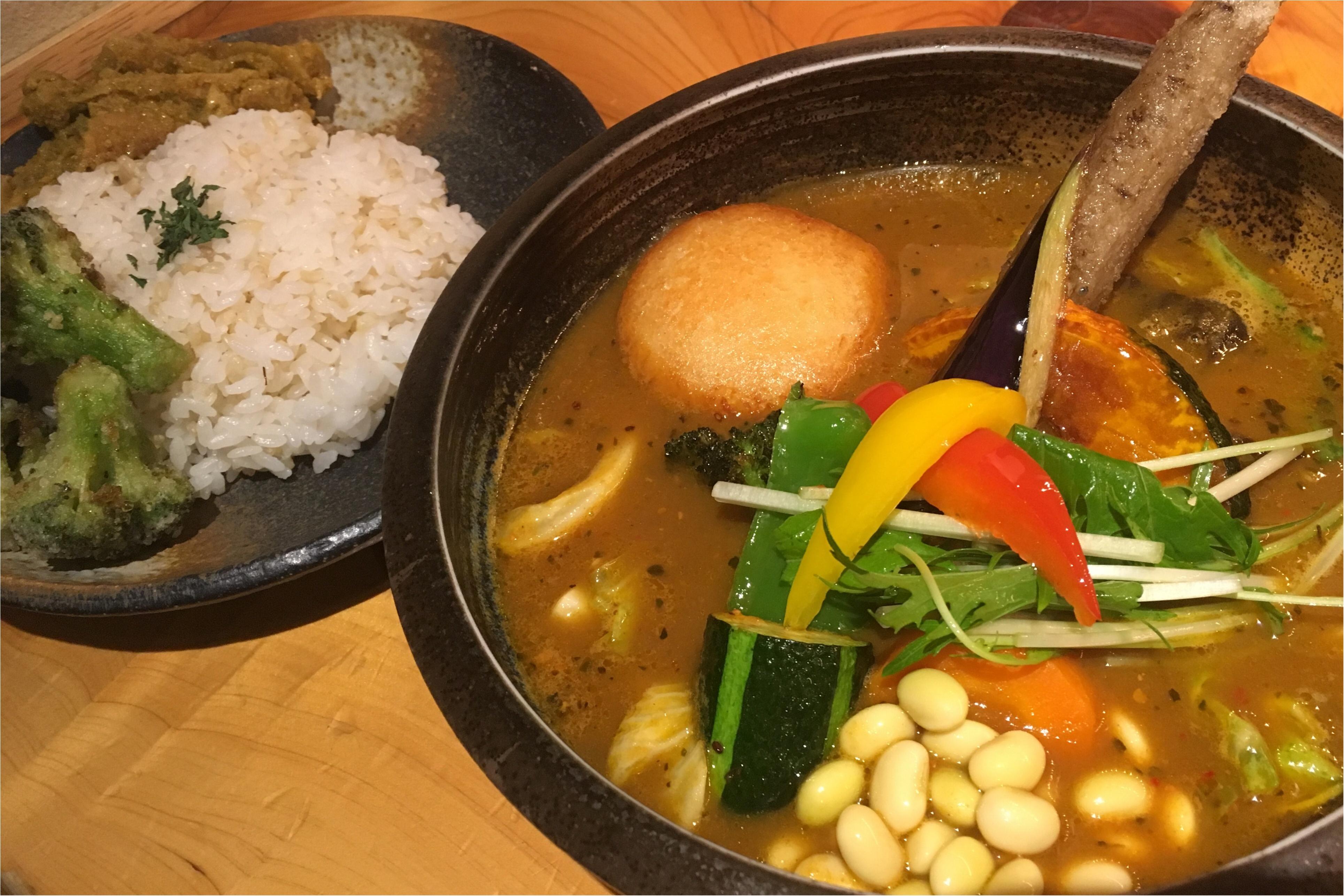 北海道から東京にやってきた!! 「1日分の野菜を食べる」がコンセプトのカレー激戦区にあるRojiura Curry SAMURAI_5