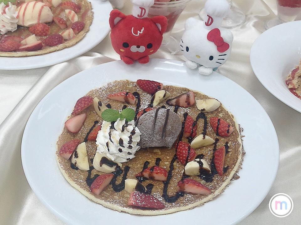 デニーズ伝説の苺デザート限定パフェが贅沢すぎる♡_4