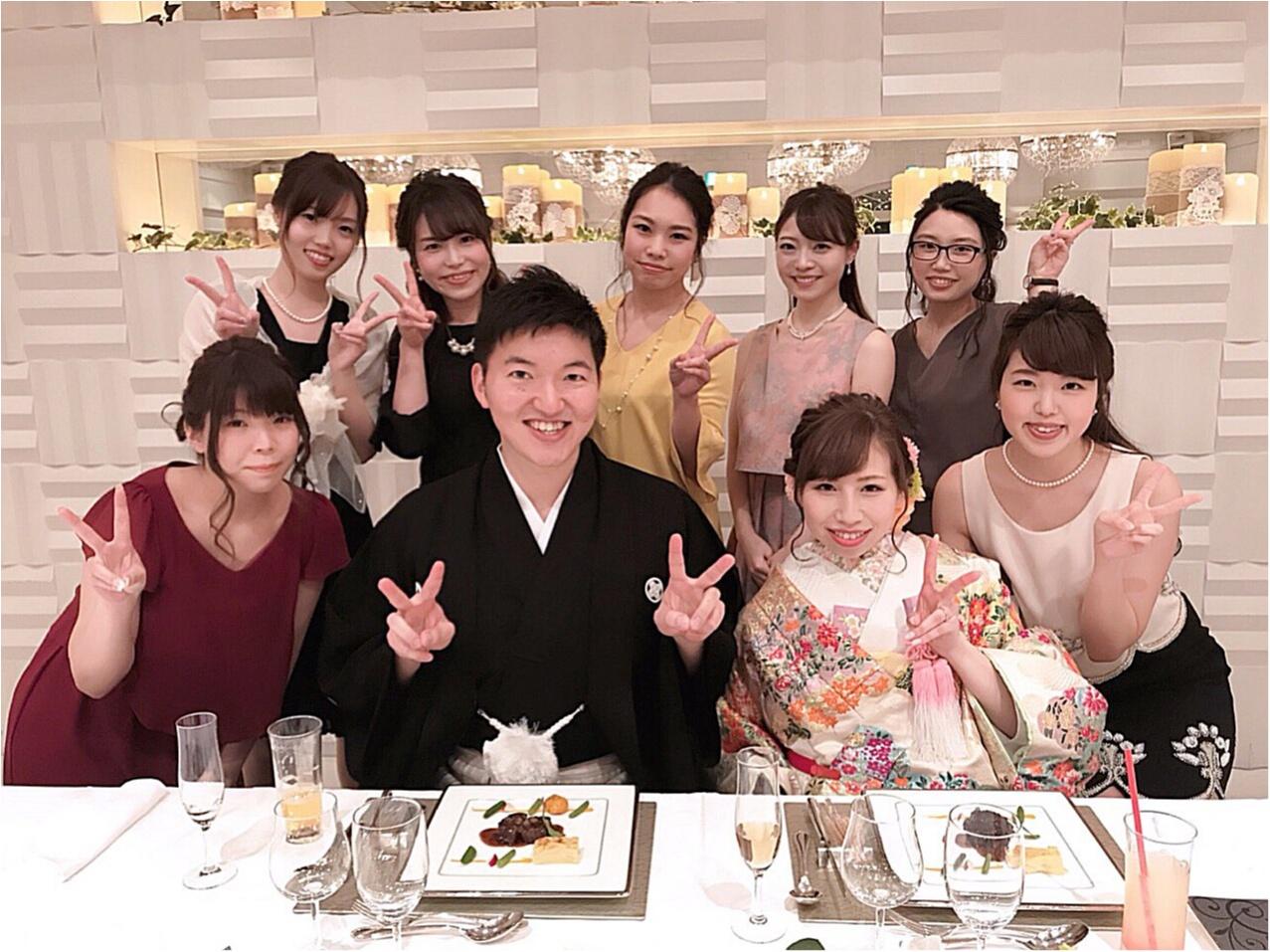 《Happy wedding》around25お呼ばれコーデは華やかにカラードレスにハーフアップで♡式に華を添えましょう!_13