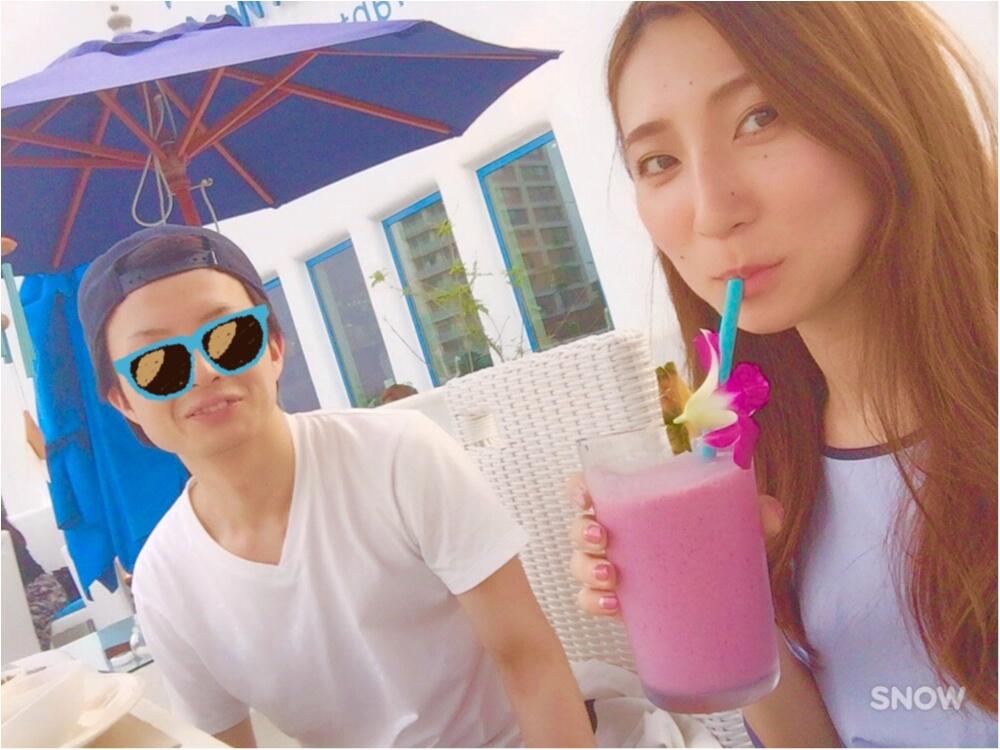 【江ノ島cafe】ホワイト×ブルーの地中海リゾートカフェ。晴れてる日はテラス席がおすすめ!!_5