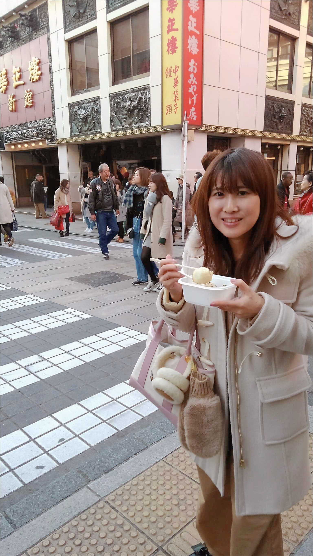 《カップルリンクコーデ》春まではける【GU(ジーユー)】チノパンで中華街デート♡_3