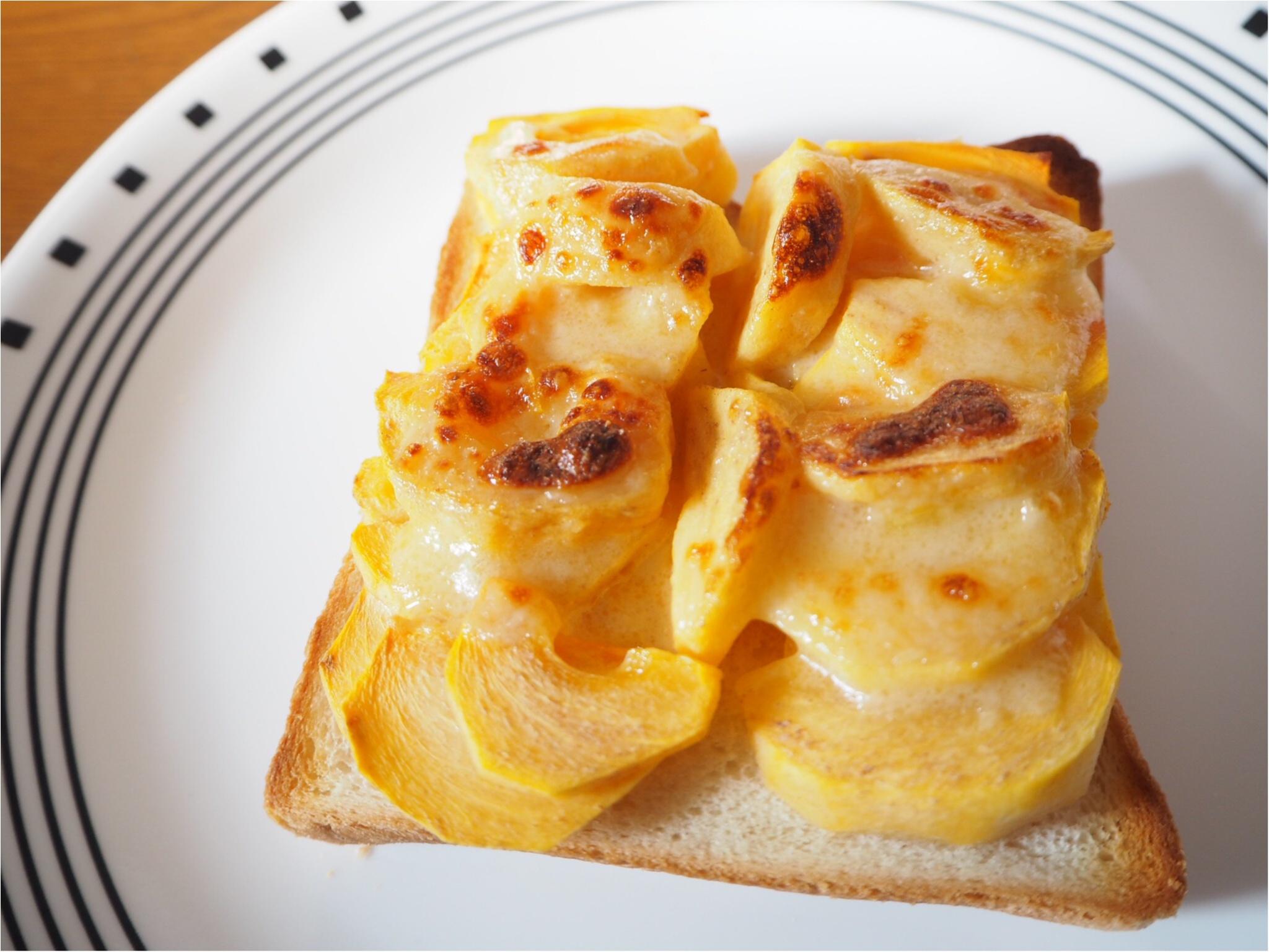moco▶︎激ウマ!柿トーストで美味しい朝を♡_3