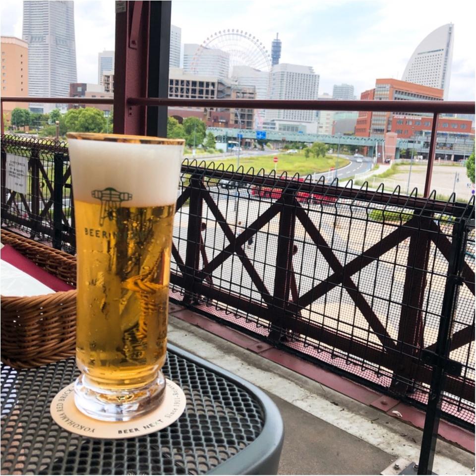 【テラス席】風を感じながら飲むビールは最高♡横浜の昼から飲める素敵スポット!_2