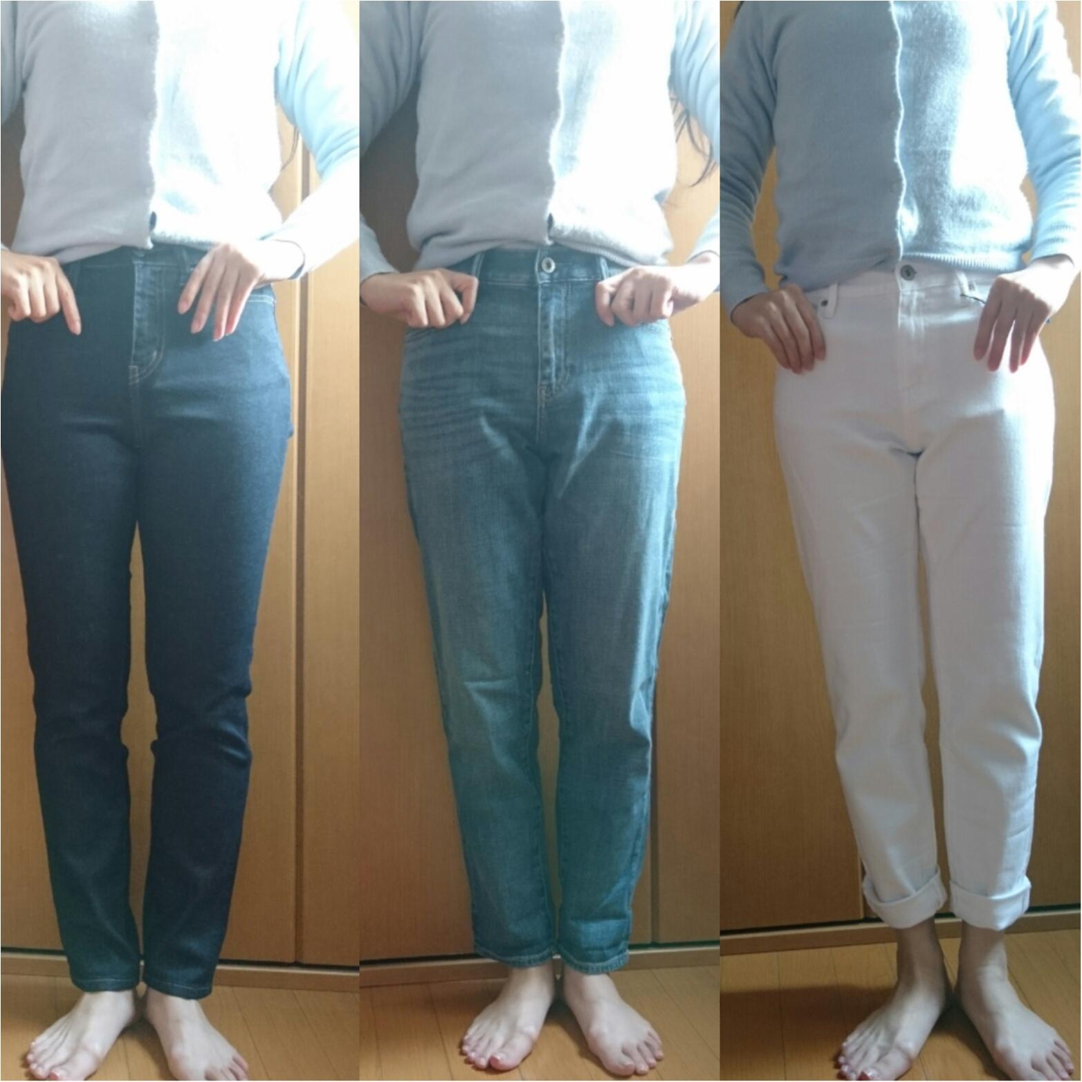 ユニクロ初トク新年祭☆ 春に向けてジーンズを買い足し_4