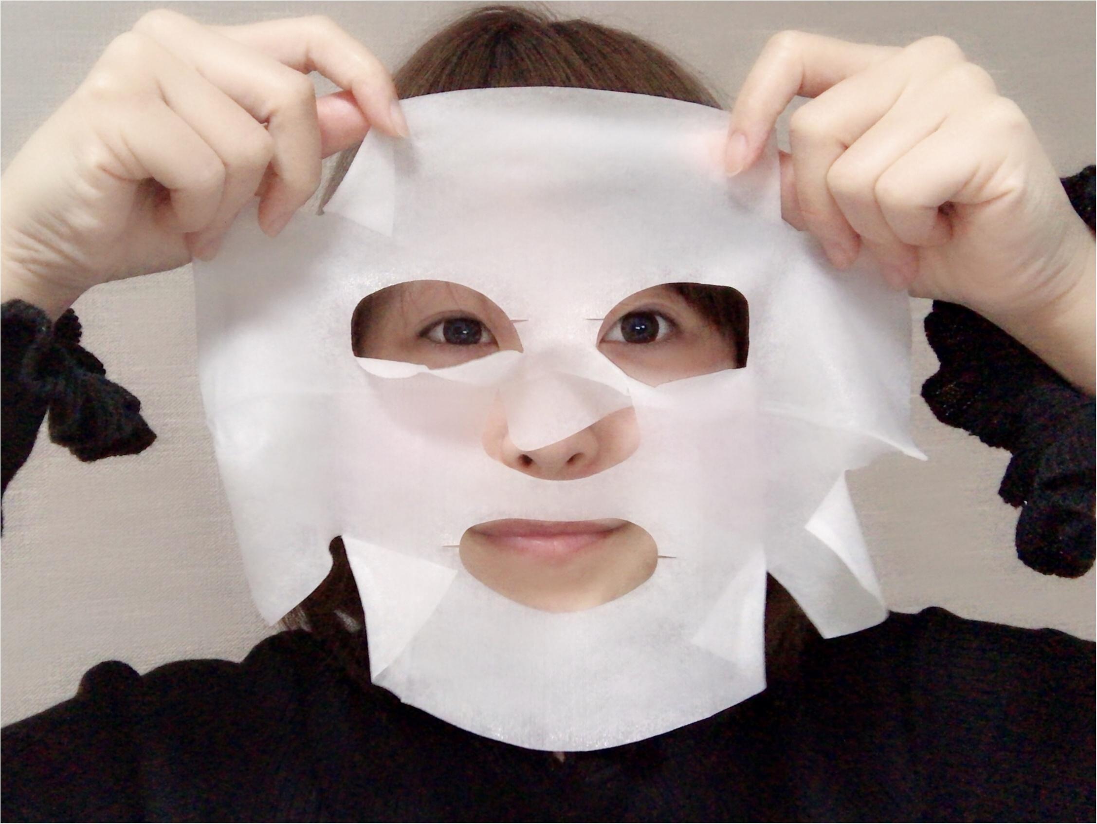 コスパ抜群!100均の《フェイスマスク》が優秀すぎる❤︎100円でこのクオリティーはすごい。手軽にケアしちゃいましょ♡♡_3