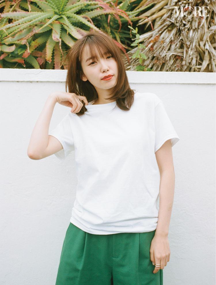 Tシャツ大好き・飯豊まりえが【パックT】を作るなら……? 選抜ブランドはこの3つでした♡_1_1