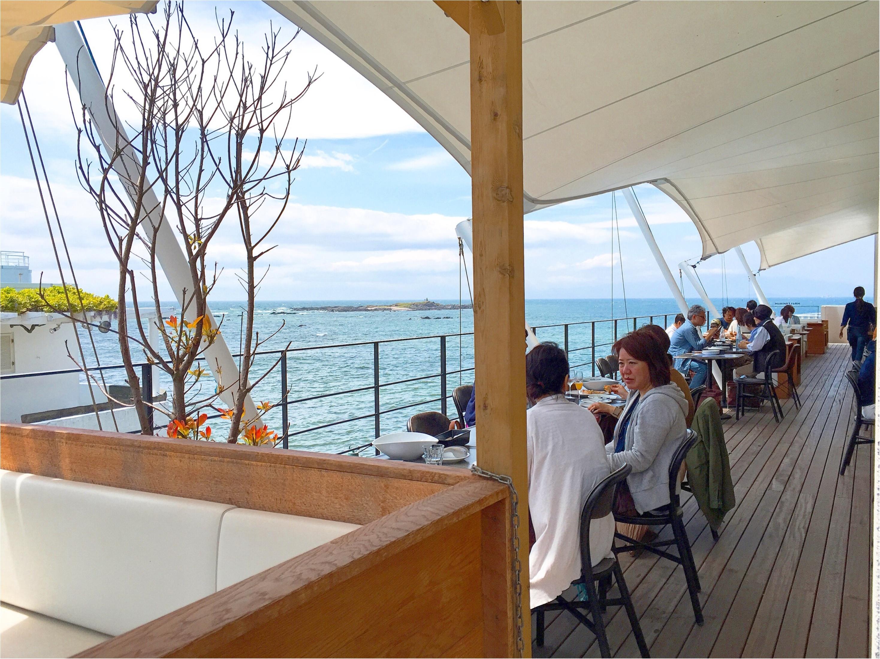 まるで海上レストラン!?海が目の前に広がるテラス席♡三浦半島の【MARINE & FARM(マリンアンドファーム)】が大人気なワケ♡_5