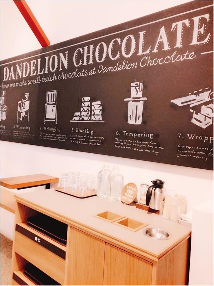 """香りを食べる♡チョコレートの新トレンド""""Bean to bar""""の専門店「ダンデライオン・チョコレート」@蔵前☻コンビニでも本格派のチョコレートが買えちゃう!?_7"""