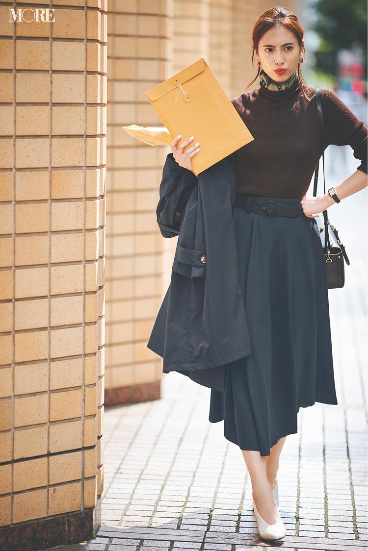 「とびきりのコーデで自分を奮い立たせるのだ!」土屋巴瑞季&鈴木友菜 着回し連載『グレーとネイビーなふたり』10日目_2