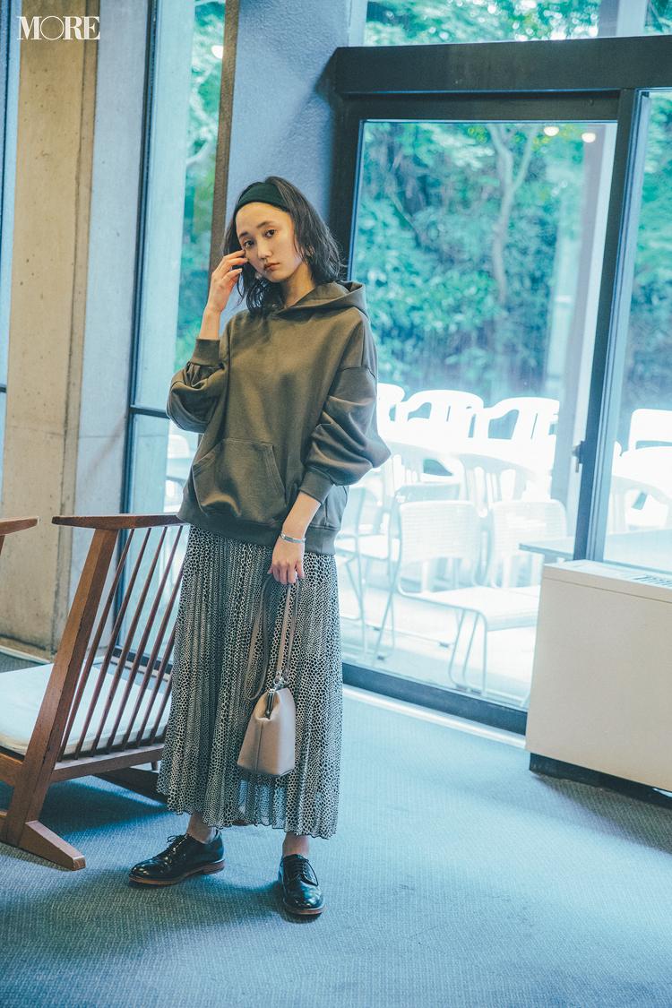 秋コーデ特集《2019年版》- トレンドのブラウンや人気のワンピース・スカートでつくる、20代におすすめのレディースコーデ_6