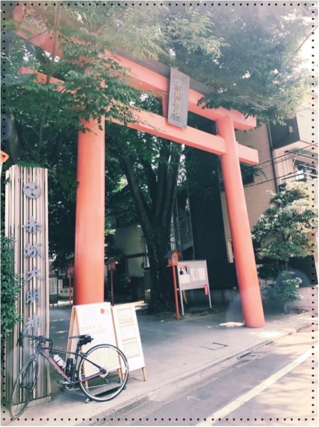御朱印ガールデビュー☻日本一オシャレな神社!?として有名な「赤城神社」@神楽坂の御朱印帳が可愛いってウワサ♡_1