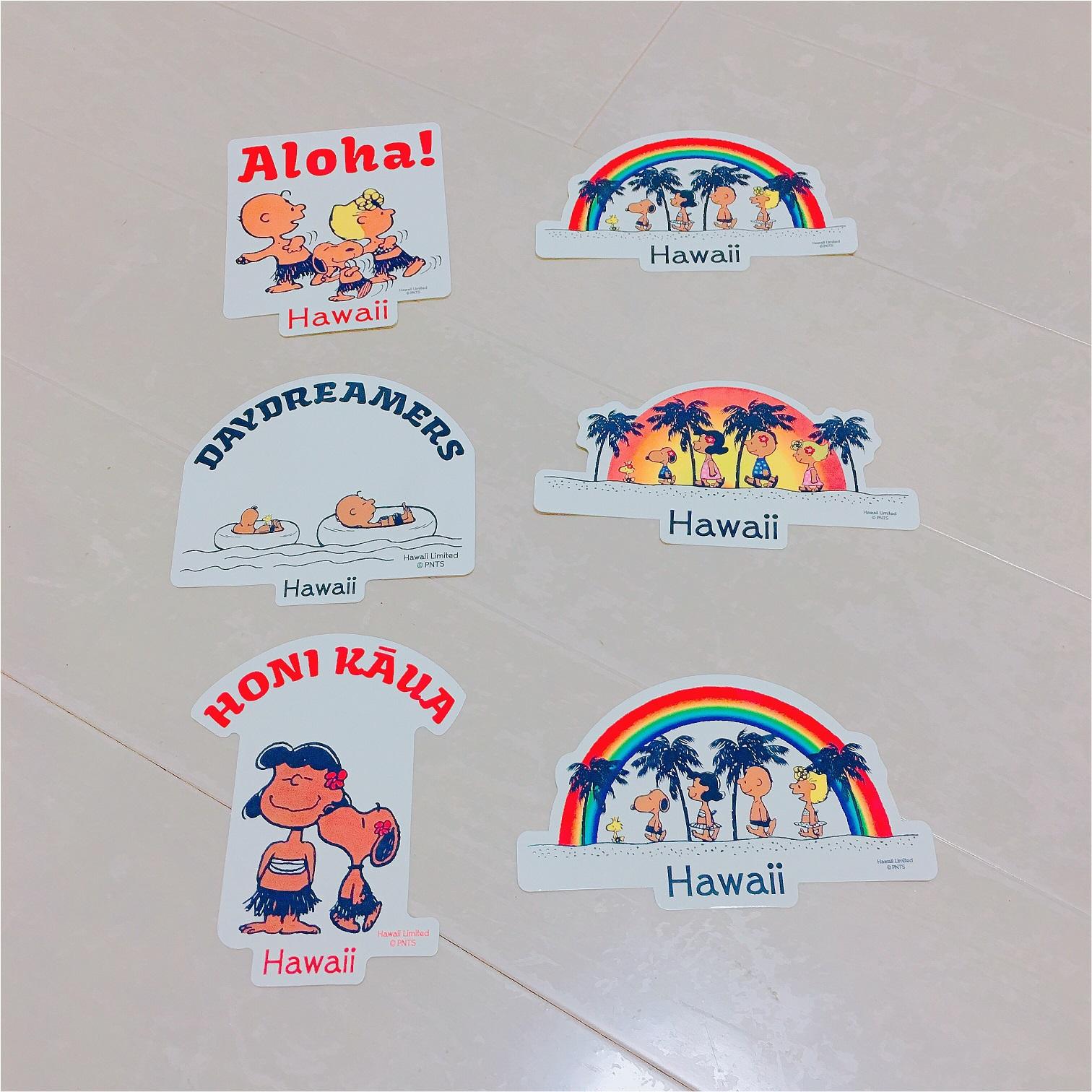 【ハワイ女子旅のおみやげ2】「MONI HONOLULU (モニホノルル)」のハワイ限定スヌーピー♡