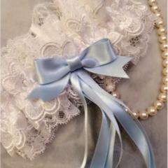 【プレ花嫁必見】ガーターリングでサムシングブルーを取り入れられるって知ってた??