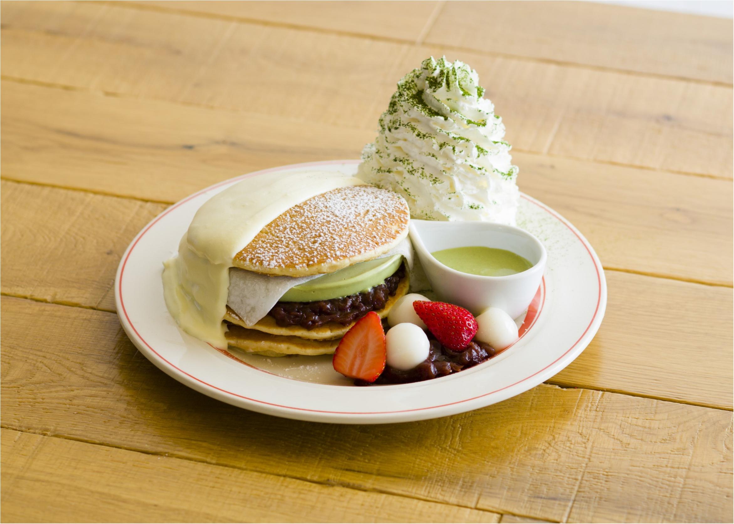 『エッグスンシングス 京都四条店』限定! 7/31(月)までの3周年記念パンケーキは、大好きな宇治抹茶♡_1