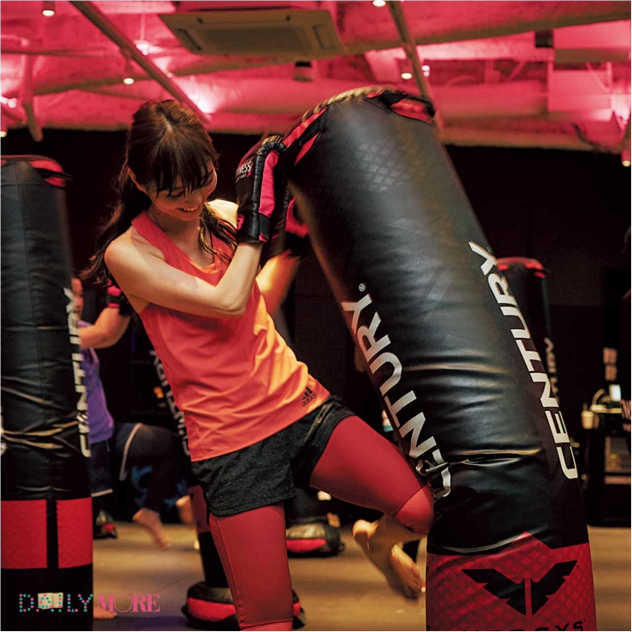 【動画でチェック!】 内田理央、人生で一番、汗をかく? 話題の女子専用ジム『MITTNESS』に突撃! 【#モアチャレ 内田理央の「キックボクシング」チャレンジ】_2_4
