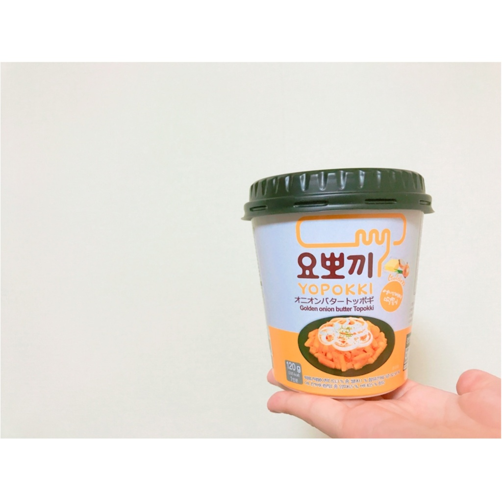 《 YOPOKKI 》濃厚!!オニオンバター味のトッポギ ♡_1