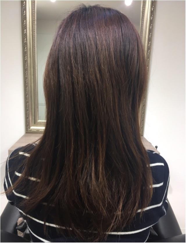 髪のダメージは美容院でのトリートメントに限る★_1