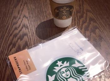 <スタバ>売り切れ前にゲットせよ!オシャレで大人気のコーヒーフィルタージッパーバッグ♡
