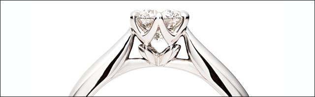 『銀座ダイヤモンドシライシ』だからこそのうっとり感。毎日つける。私、輝く。夢見るウェディングリング_2