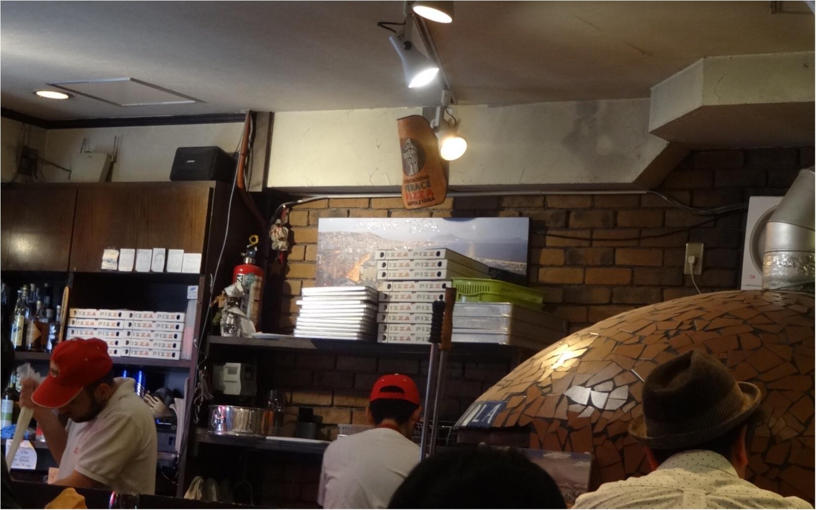 食べログTOP5000のピザ屋さん『ラ・ピッコラ・ターヴォラ 』へ行ってきました。_2
