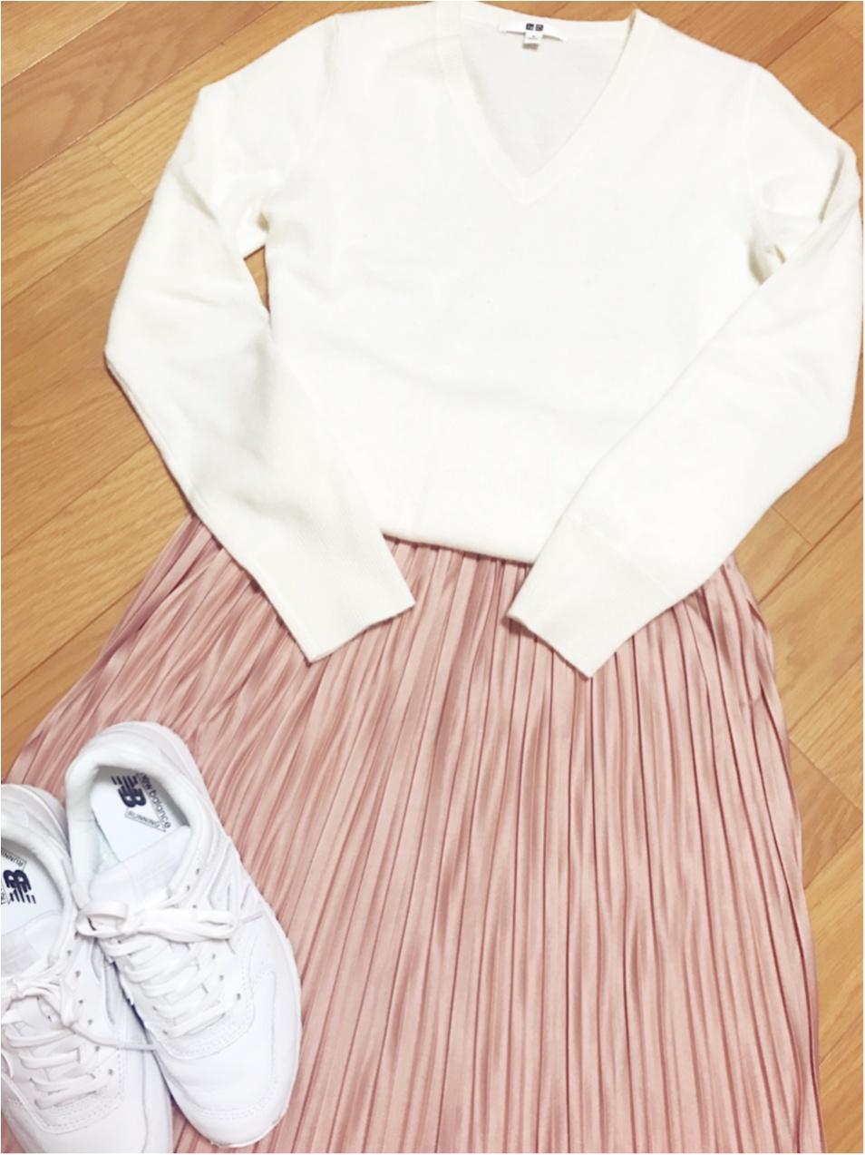履くだけで一気に春めく❤︎【白スニーカー】のススメ_3