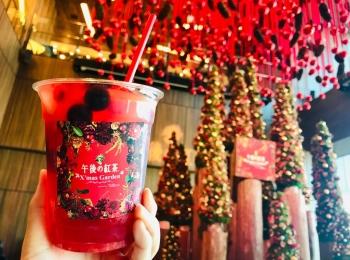 【午後の紅茶×ニコライバーグマン】花とクリスマスの限定カフェ★フラワーティーが可愛すぎる♡