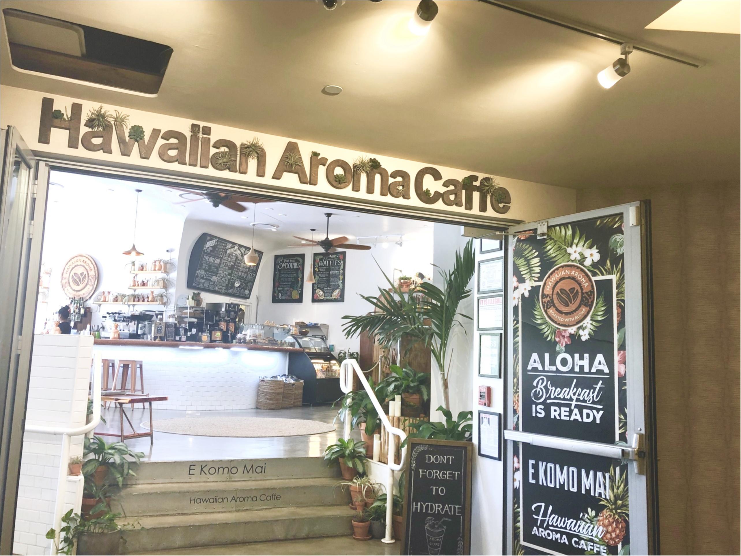 【Hawaii】おすすめ隠れ家カフェをご紹介します!!美味しいワッフルと内装が可愛いすぎる♡♡インスタ映えするフォトスペースも!?_1
