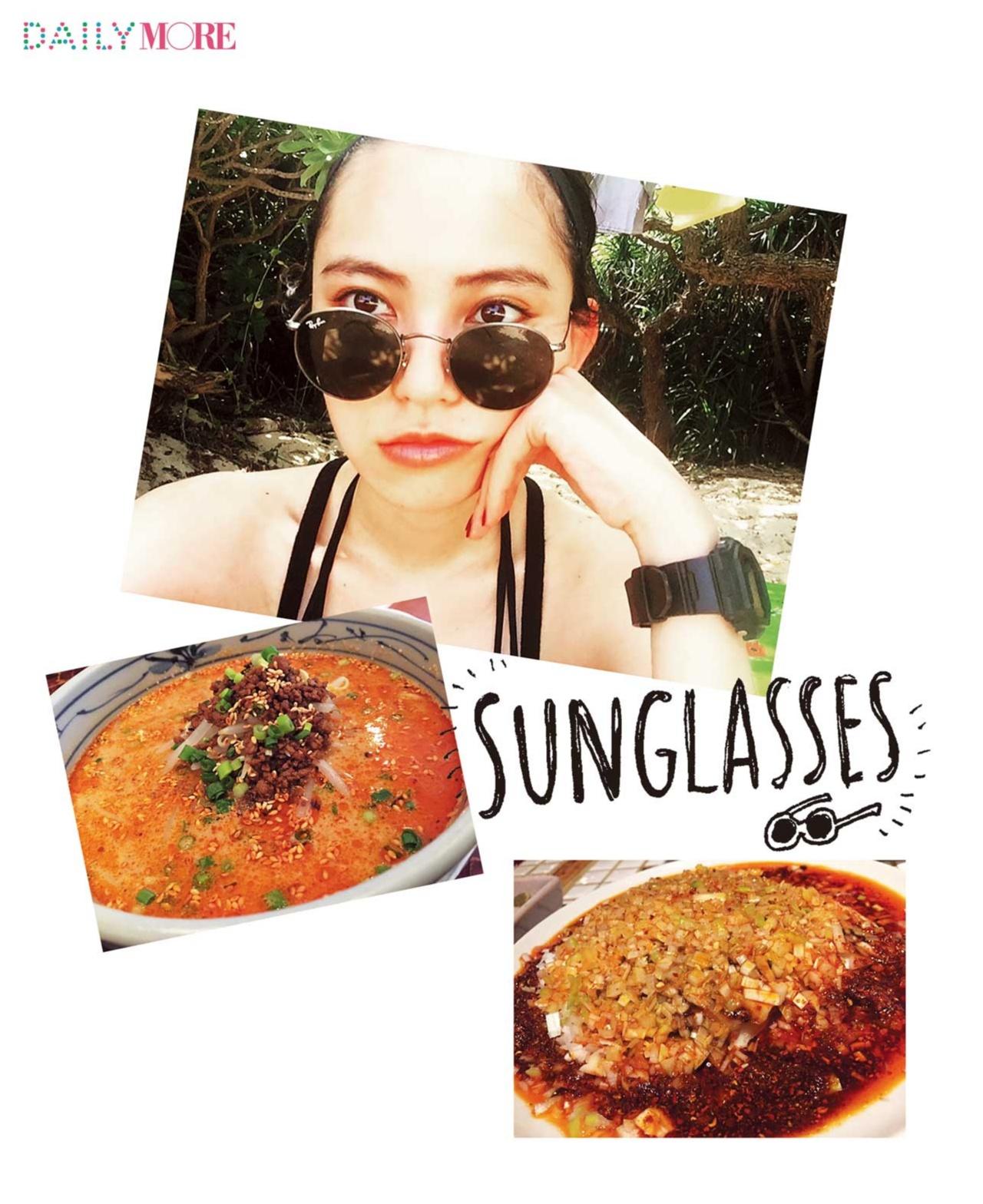 【モアモデルの夏の過ごし方】游は、辛~い物を食べて元気を出しています♪_1