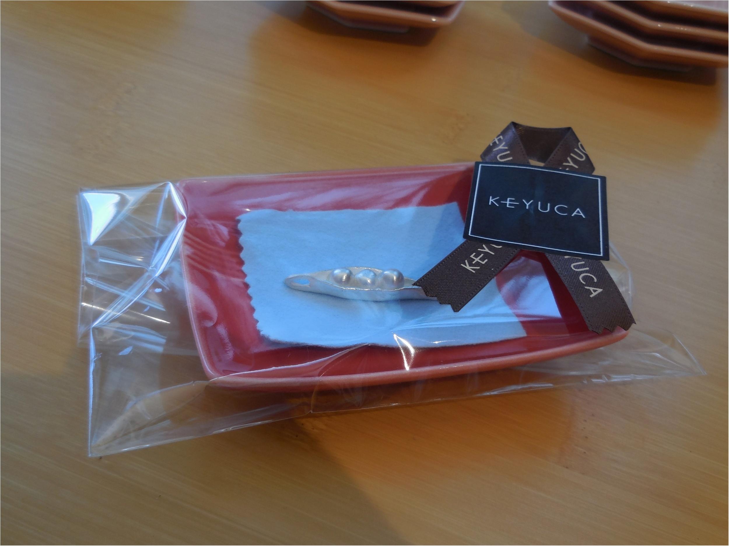 【ケユカ】純銀粘土で作るペンダントワークショップに参加してきました。_12
