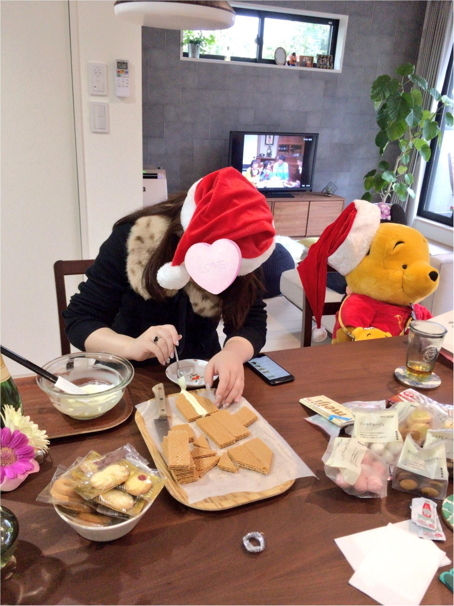 ♡今年のクリスマスはホームパーティ♡誕生日サプライズも有り♪_5