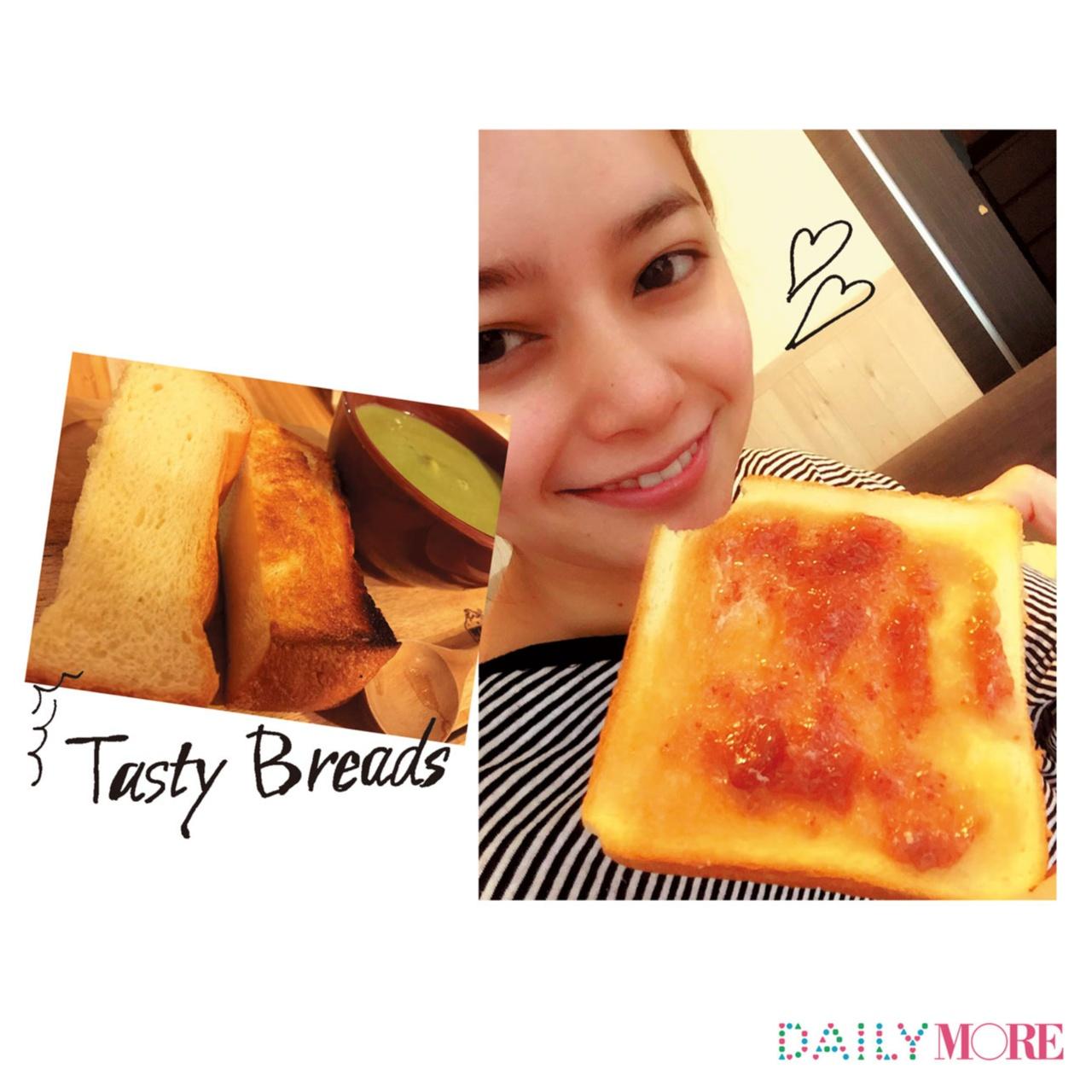 【岸本セシルのデジレポ。】お気に入りの朝食は、ふっかふかのトーストといちごジャム☆_1