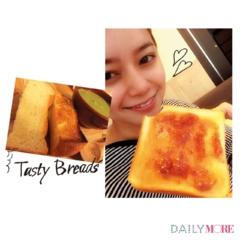 【岸本セシルのデジレポ。】お気に入りの朝食は、ふっかふかのトーストといちごジャム☆