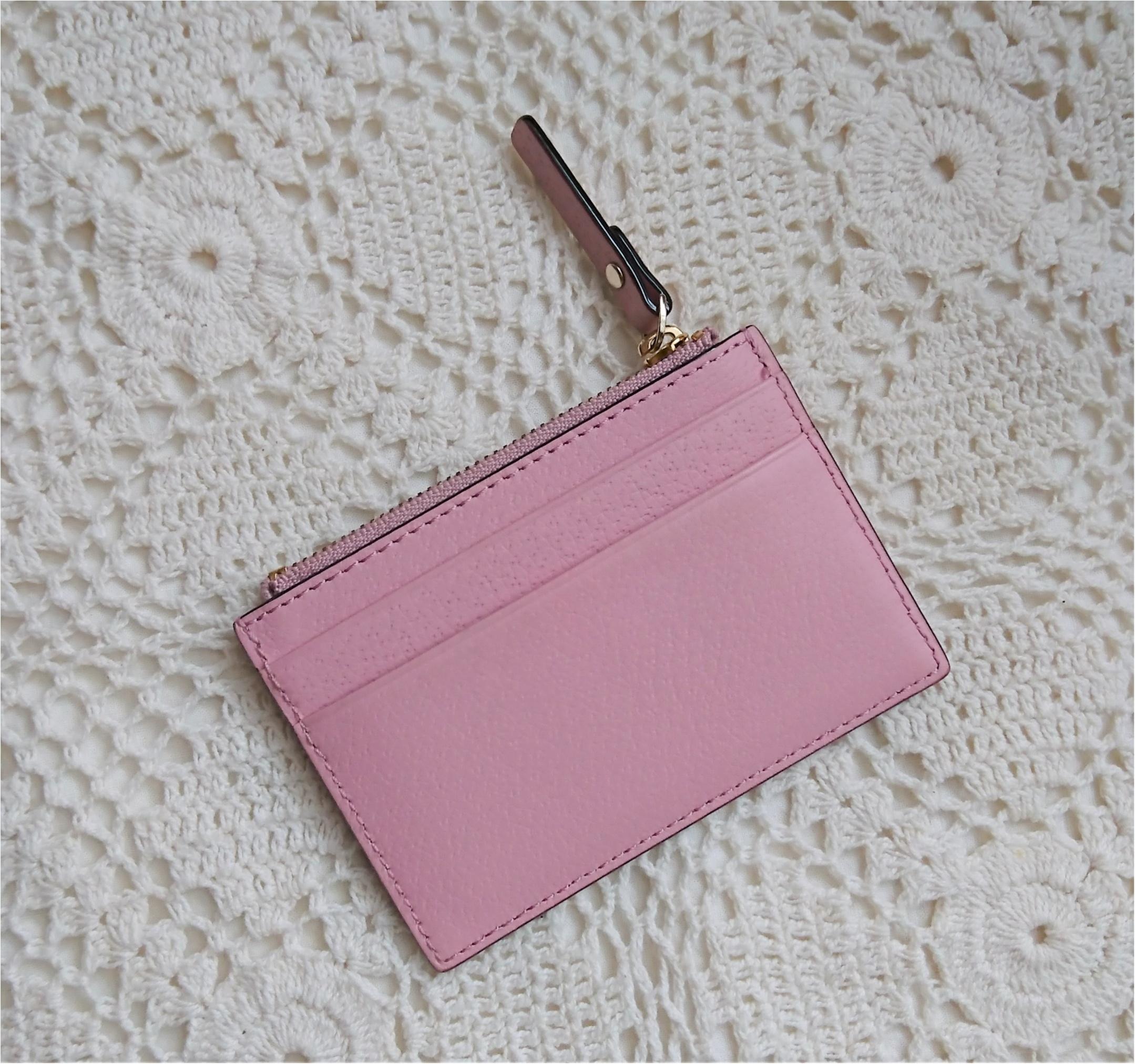 【kate spadeのスマート財布】小さいバッグの時の中身!_5