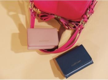 【NEWS】モア11月号の付録は『ジルスチュアート』の三つ折り財布!! ピンクとネイビーから色が選べます♪