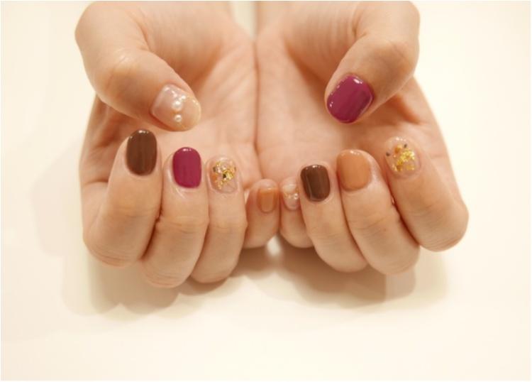 《ワンカラーだって色を選べばかわいい♡》バレンタインも近づくこの時期に選んだのは茶色♡_1