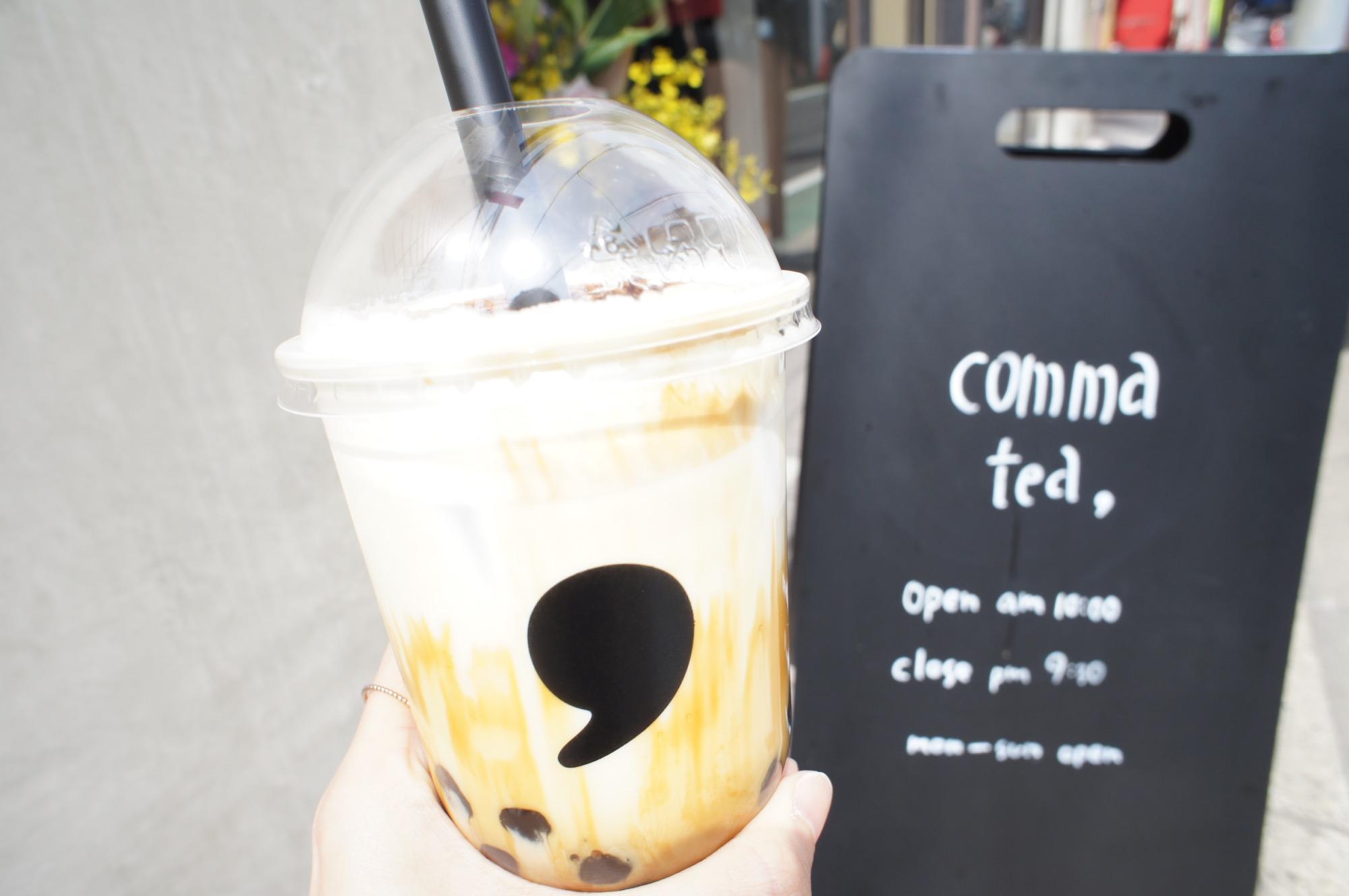 《#東京カフェ巡り》大人向けのタピオカティー【comma tea(コンマティー)】が表参道にオープン❤️☻_5