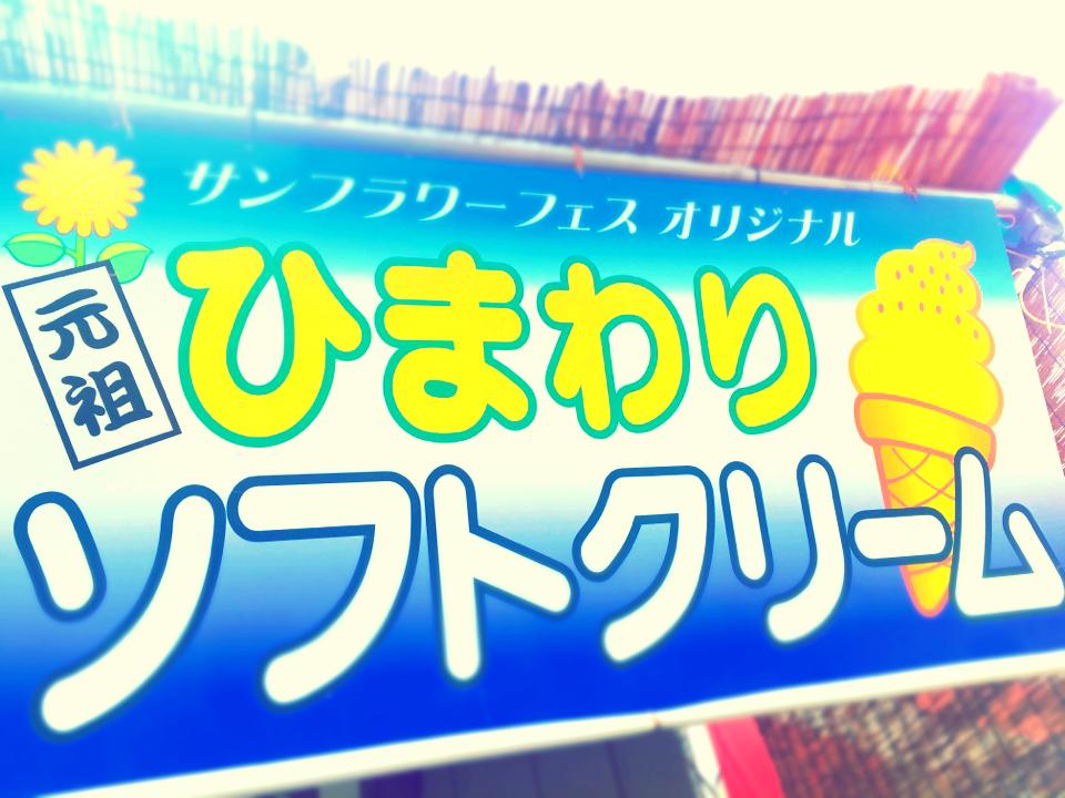 60万本の奇跡!明野ひまわり畑で初めて食べたひまわりソフトクリーム_6
