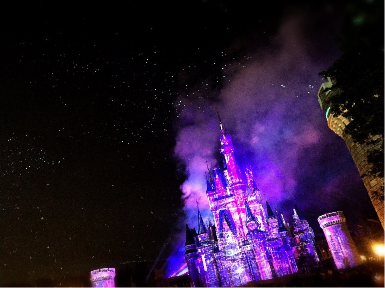 会社あがりでも十分満喫!平日ディズニー♡アナ雪のプロジェクションマッピングみてきました!_8