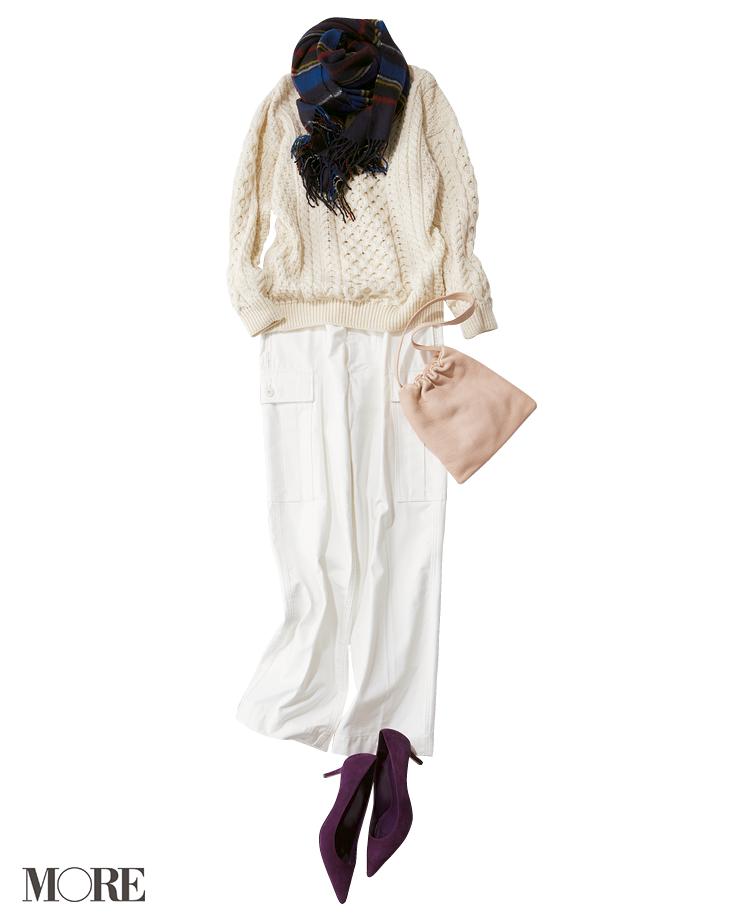 何気ないコーデをちょっと特別にしてくれる【冬の白】コーデ見本   ファッション(2018年編)_1_5