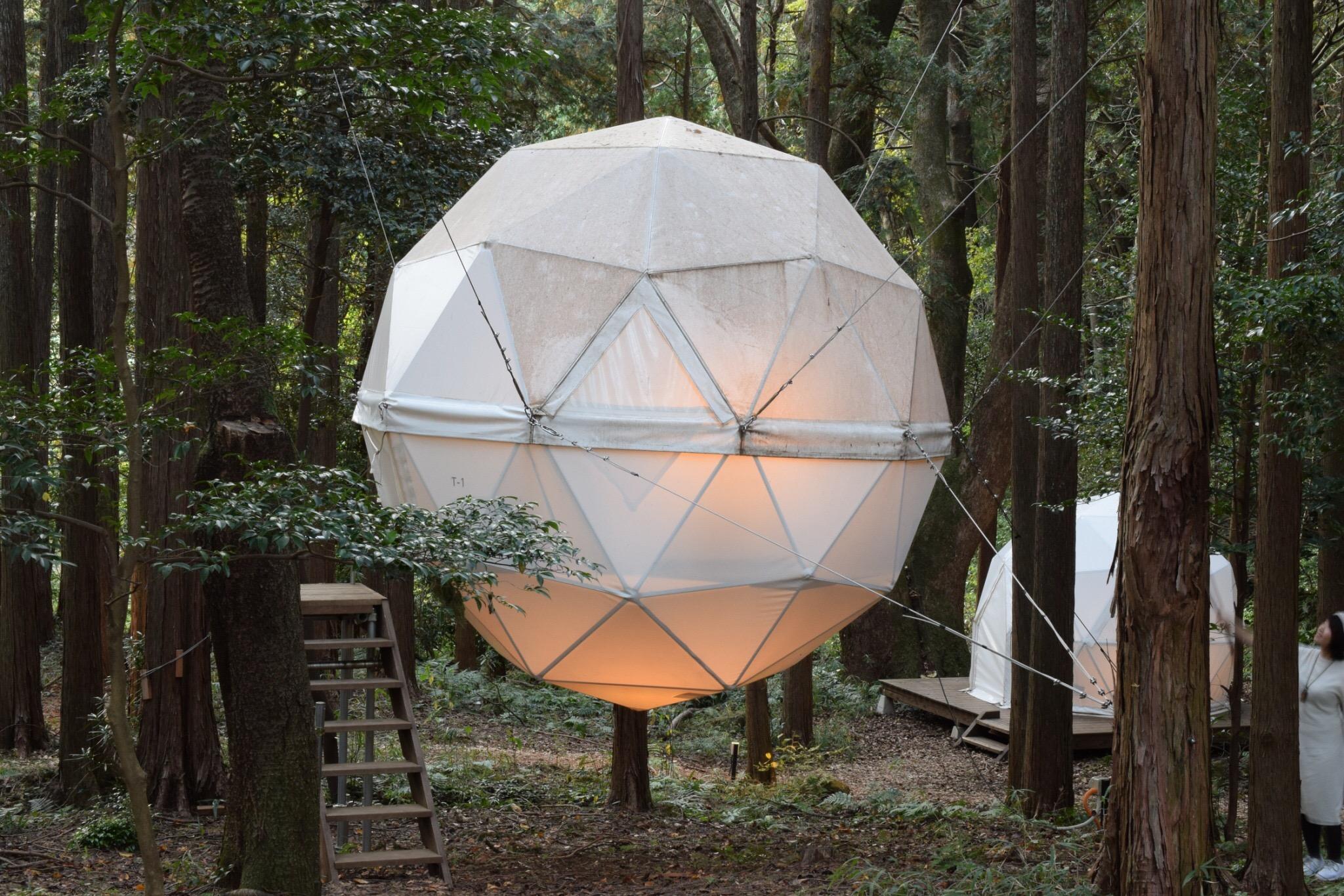 【グランピング】森に浮かぶテントに泊まれちゃう♡《INN THE PARK》@沼津_3